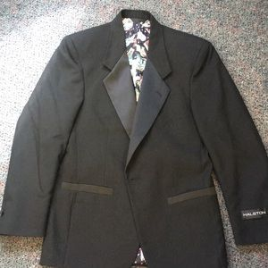 Halston vintage tuxedo jacket